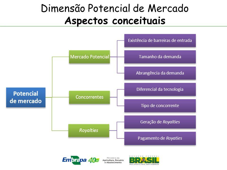 Dimensão Potencial de Mercado