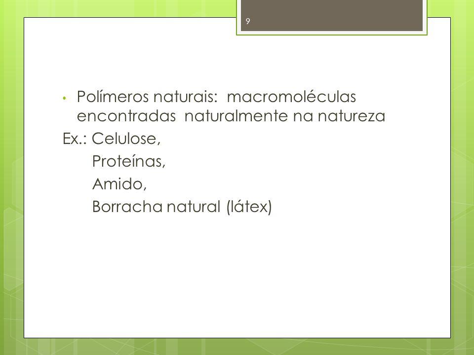 Polímeros naturais: macromoléculas encontradas naturalmente na natureza