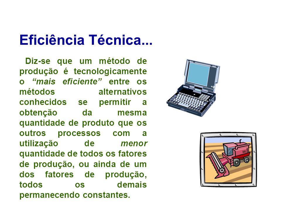 Eficiência Técnica...