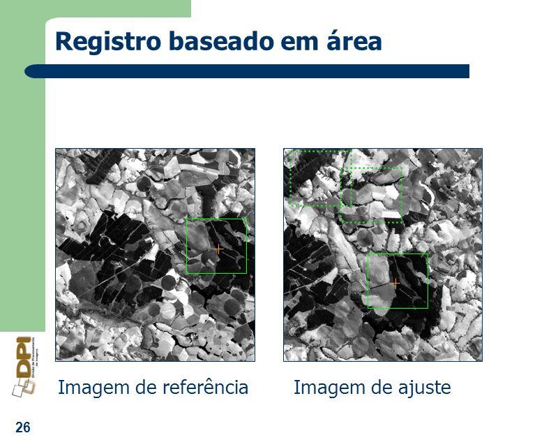 Registro baseado em área
