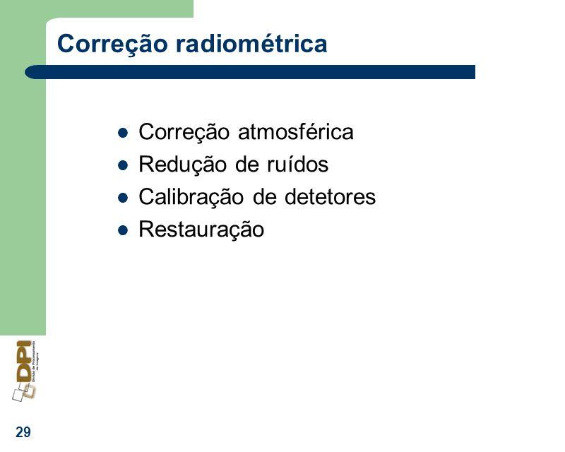Correção radiométrica