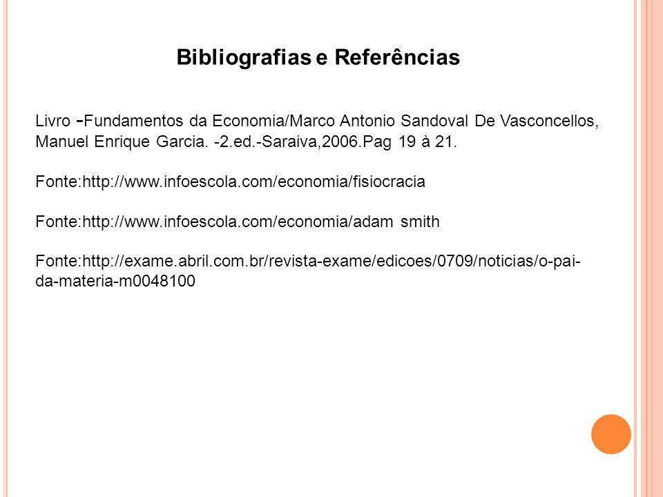 Bibliografias e Referências