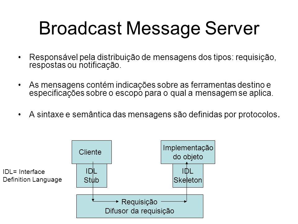 Broadcast Message Server