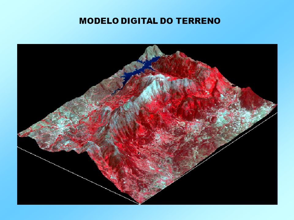 MODELO DIGITAL DO TERRENO