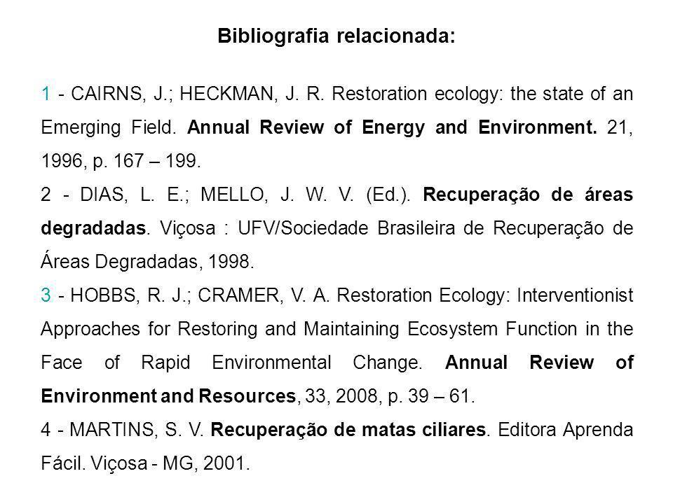 Bibliografia relacionada: