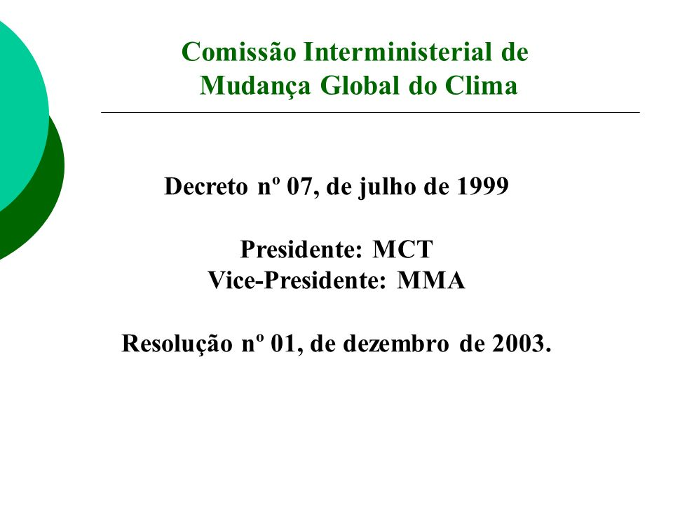 Comissão Interministerial de Mudança Global do Clima
