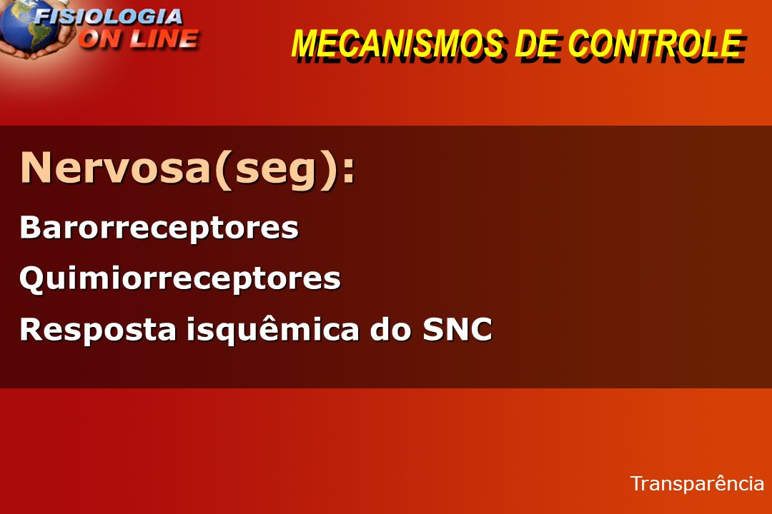 MECANISMOS DE CONTROLE