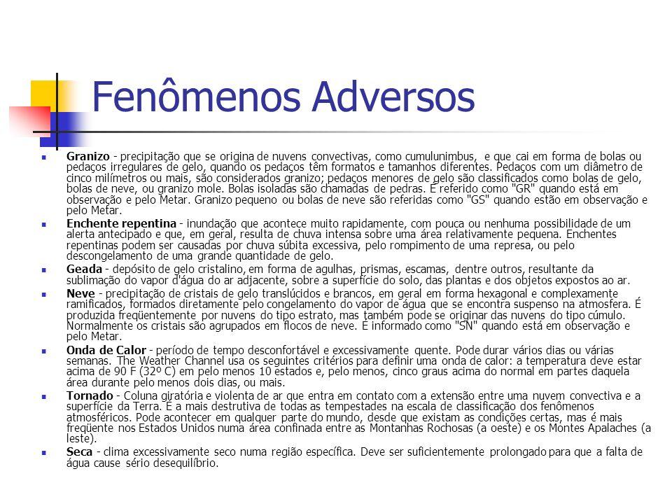 Fenômenos Adversos