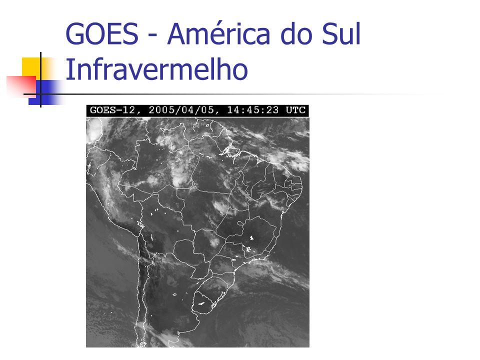 GOES - América do Sul Infravermelho
