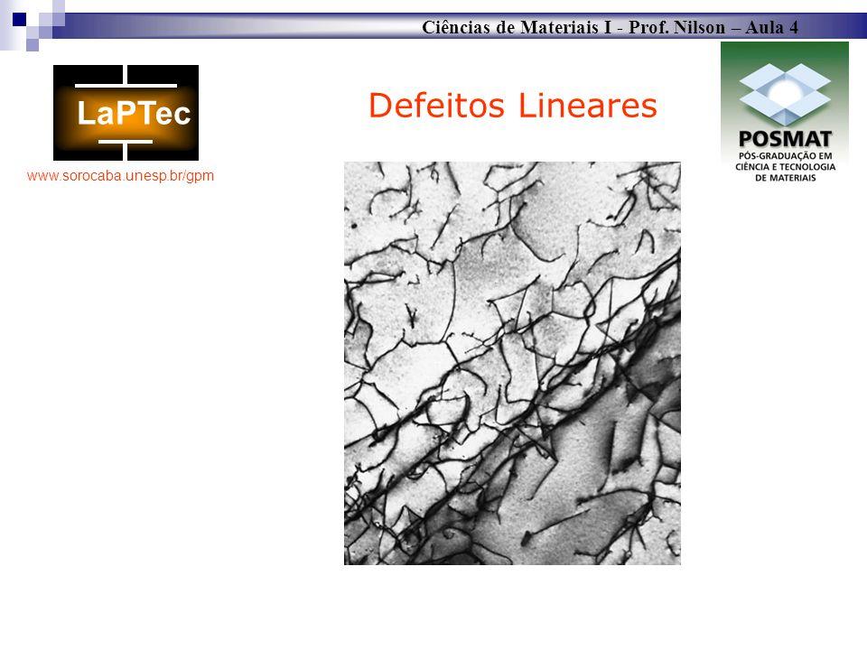 Defeitos Lineares