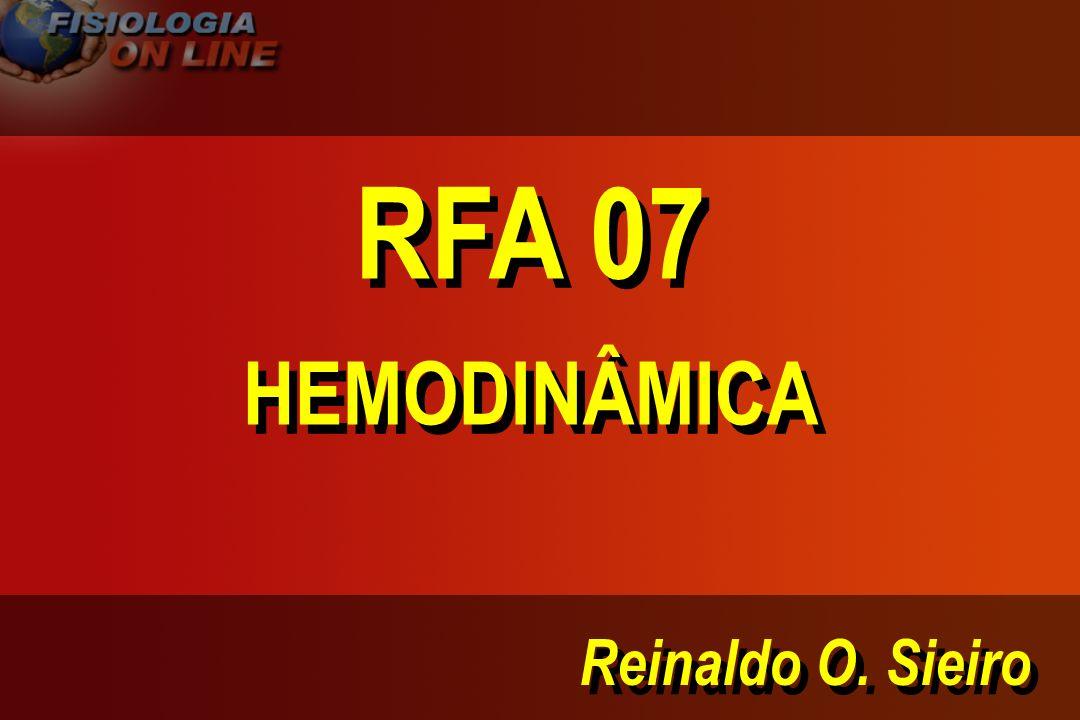 RFA 07 HEMODINÂMICA Reinaldo O. Sieiro