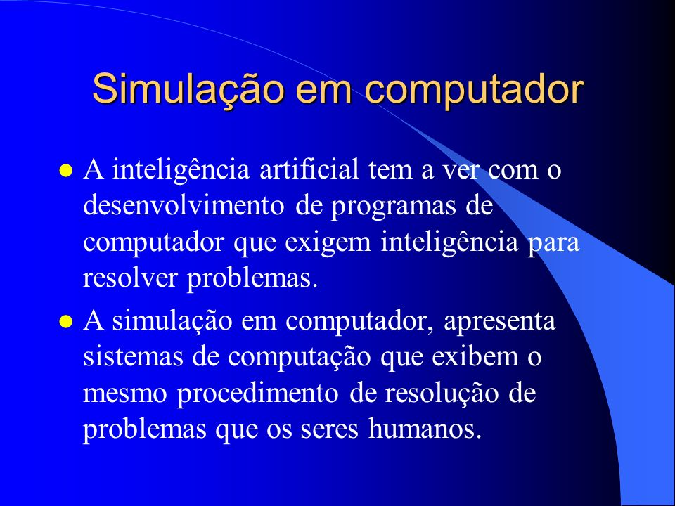 Simulação em computador