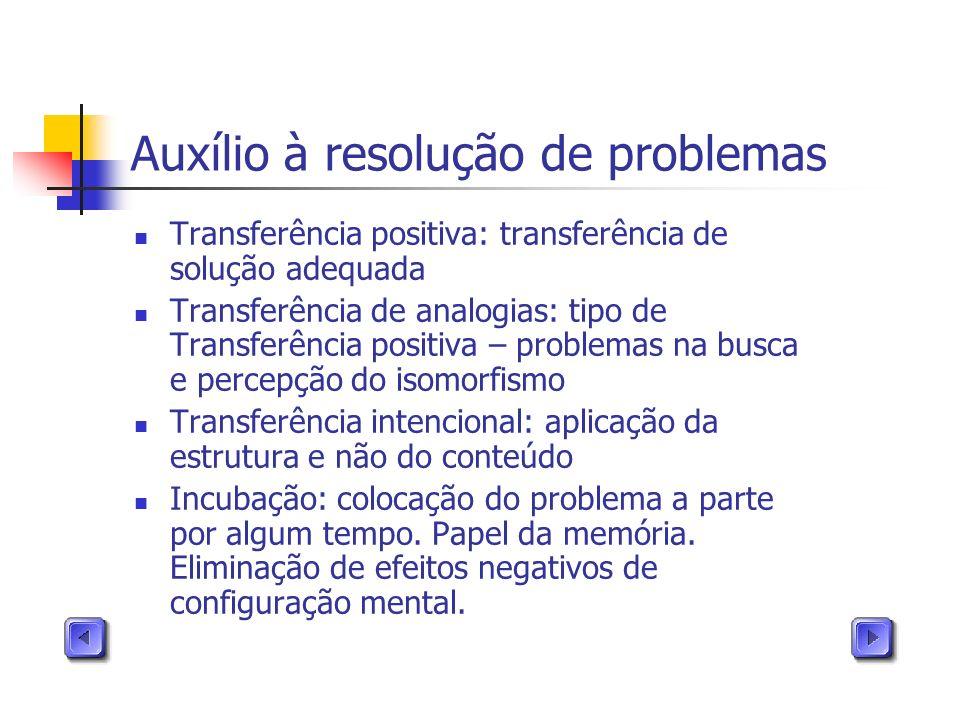 Auxílio à resolução de problemas