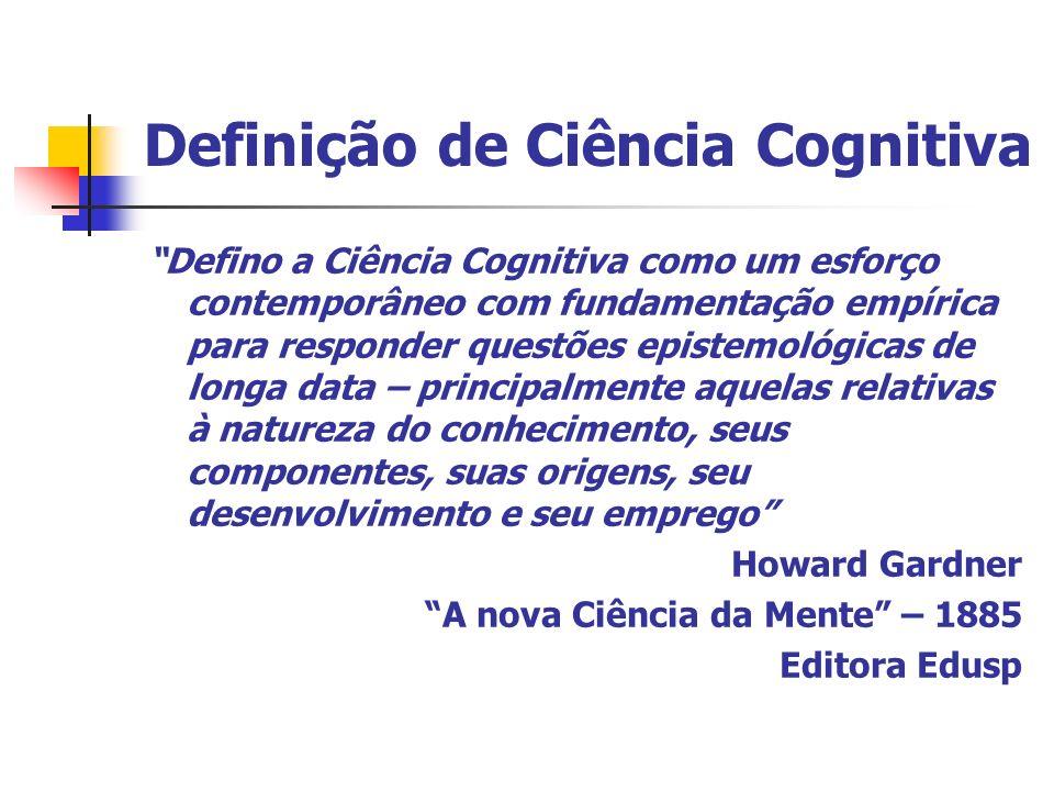 Definição de Ciência Cognitiva