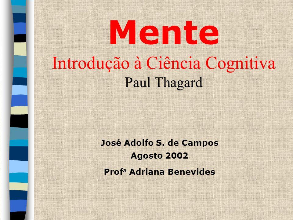 Mente Introdução à Ciência Cognitiva Paul Thagard