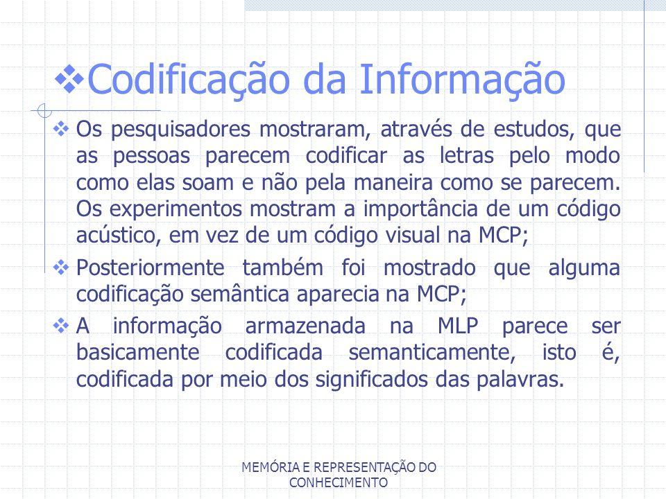 Codificação da Informação