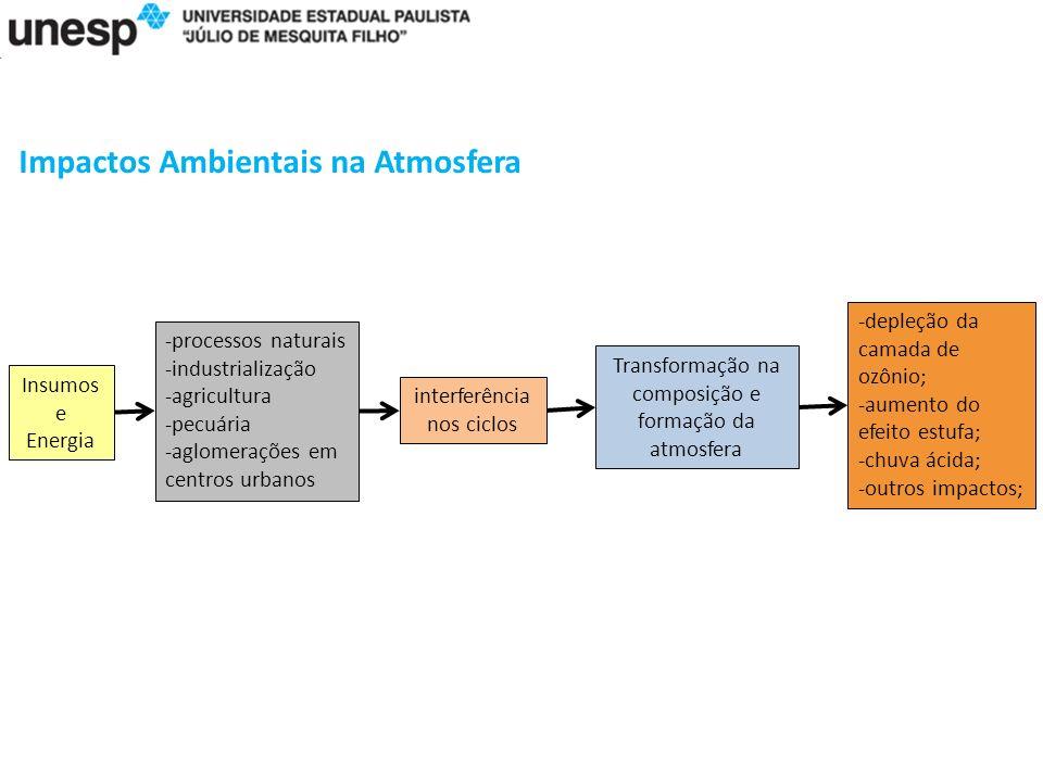 Impactos Ambientais na Atmosfera