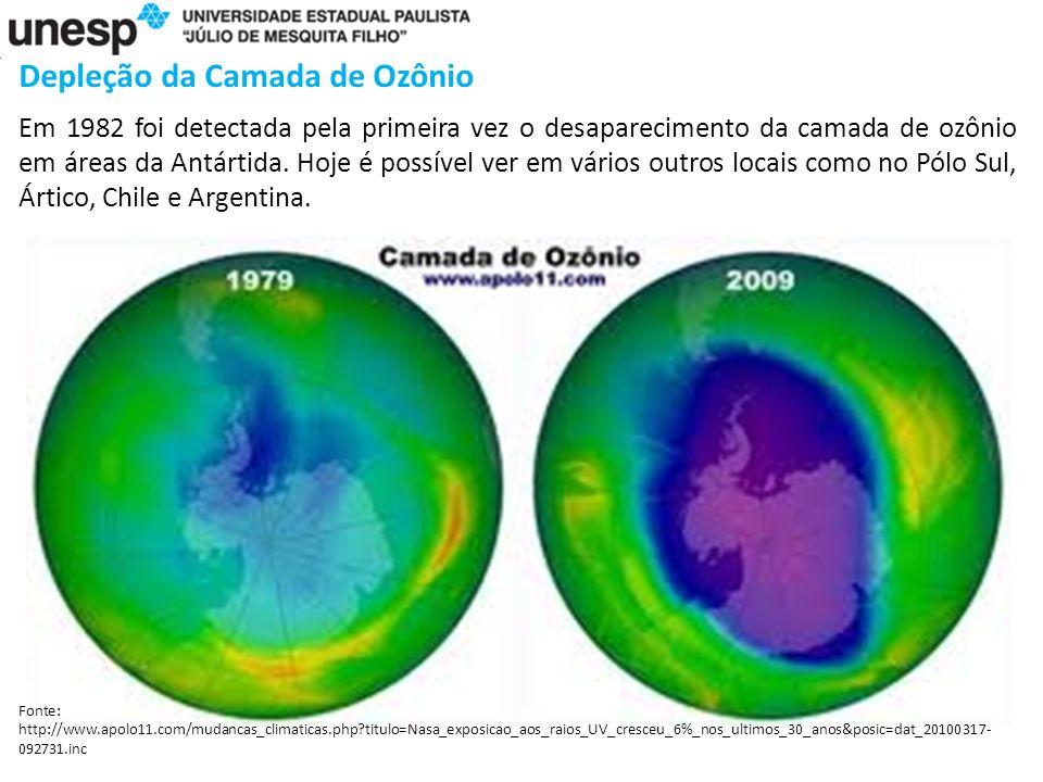 Depleção da Camada de Ozônio