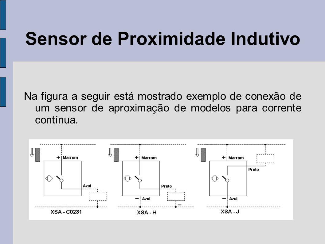 Sensor de Proximidade Indutivo