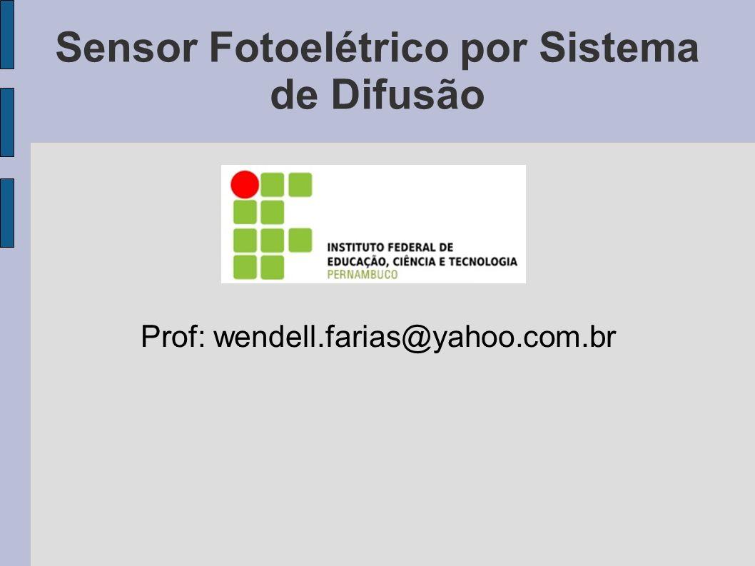 Sensor Fotoelétrico por Sistema de Difusão