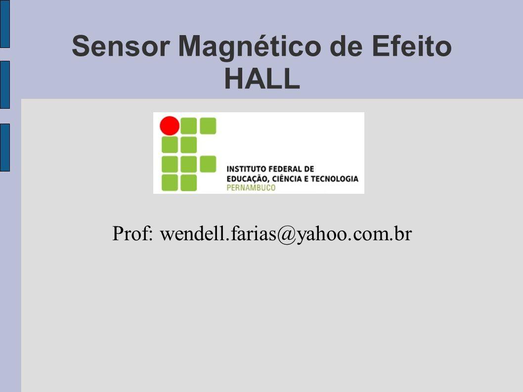 Sensor Magnético de Efeito HALL
