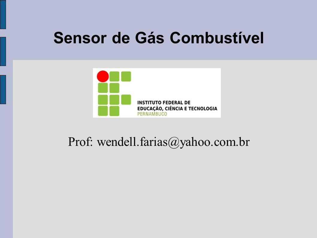 Sensor de Gás Combustível