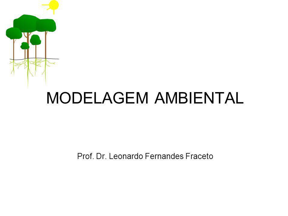 MODELAGEM AMBIENTAL Prof. Dr. Leonardo Fernandes Fraceto