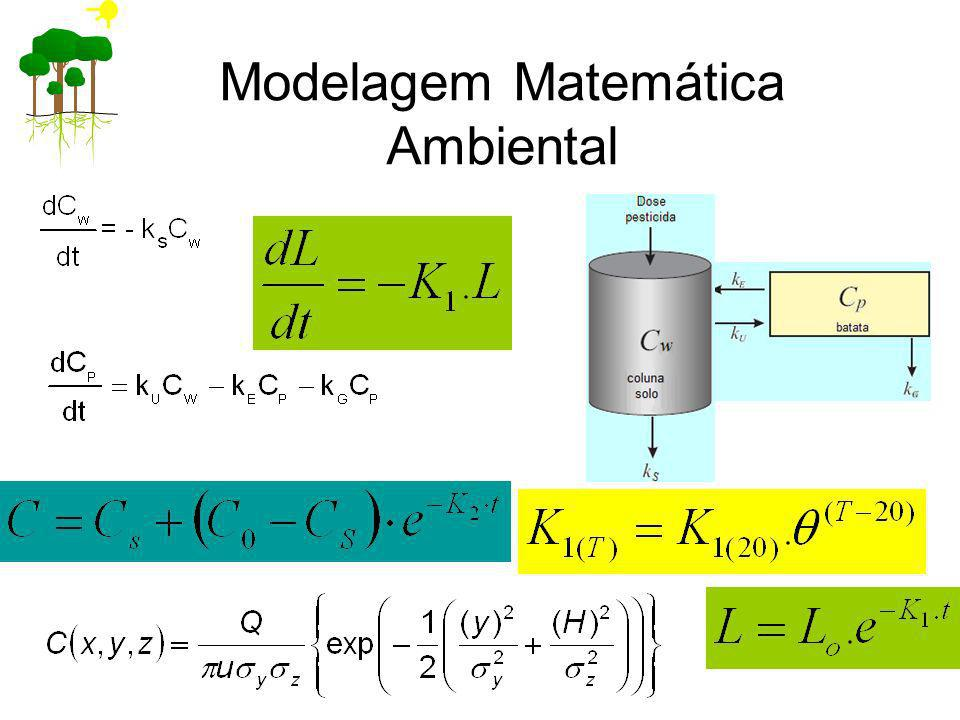 Modelagem Matemática Ambiental