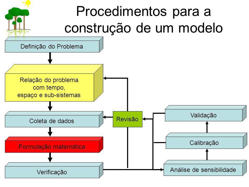 Procedimentos para a construção de um modelo