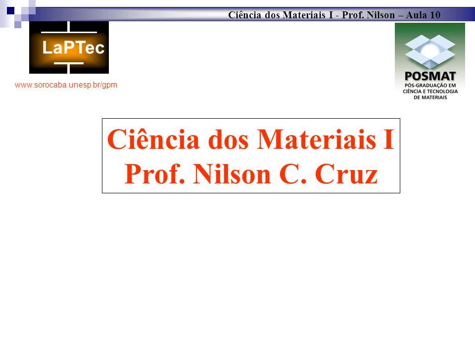 Ciência dos Materiais I
