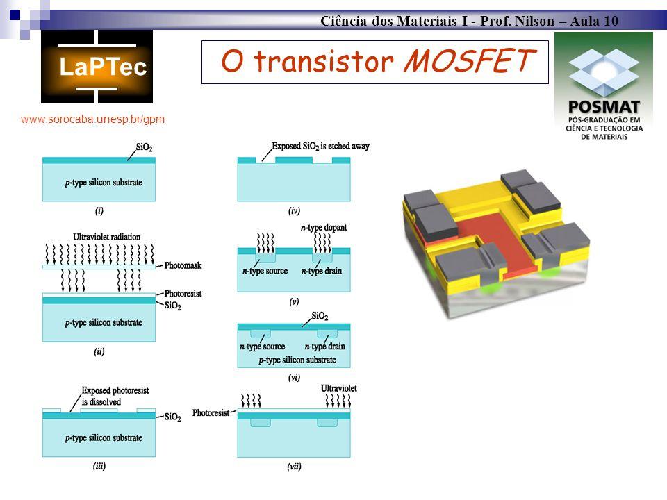 O transistor MOSFET