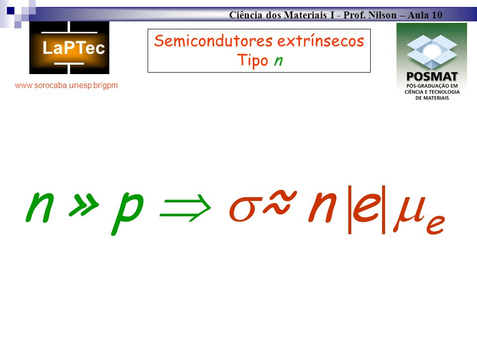 Semicondutores extrínsecos