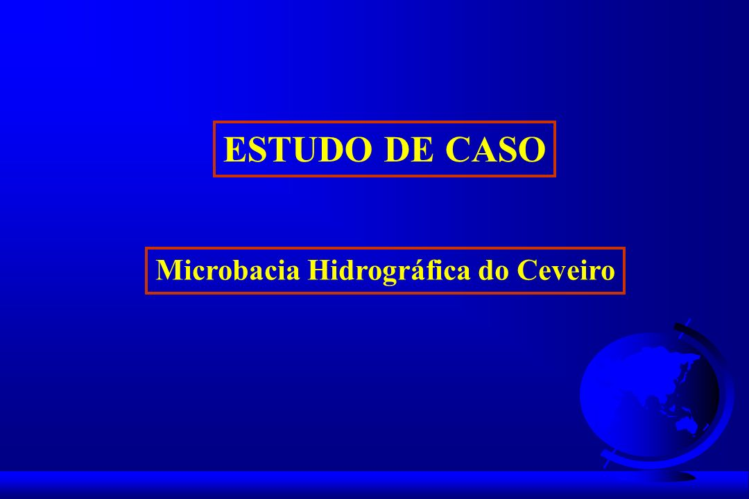 Microbacia Hidrográfica do Ceveiro