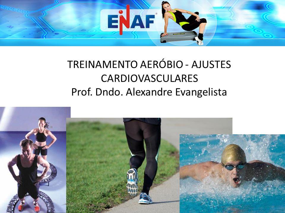 TREINAMENTO AERÓBIO - AJUSTES CARDIOVASCULARES Prof. Dndo