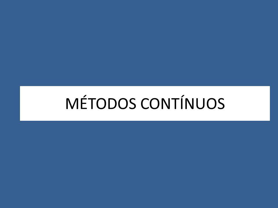 MÉTODOS CONTÍNUOS