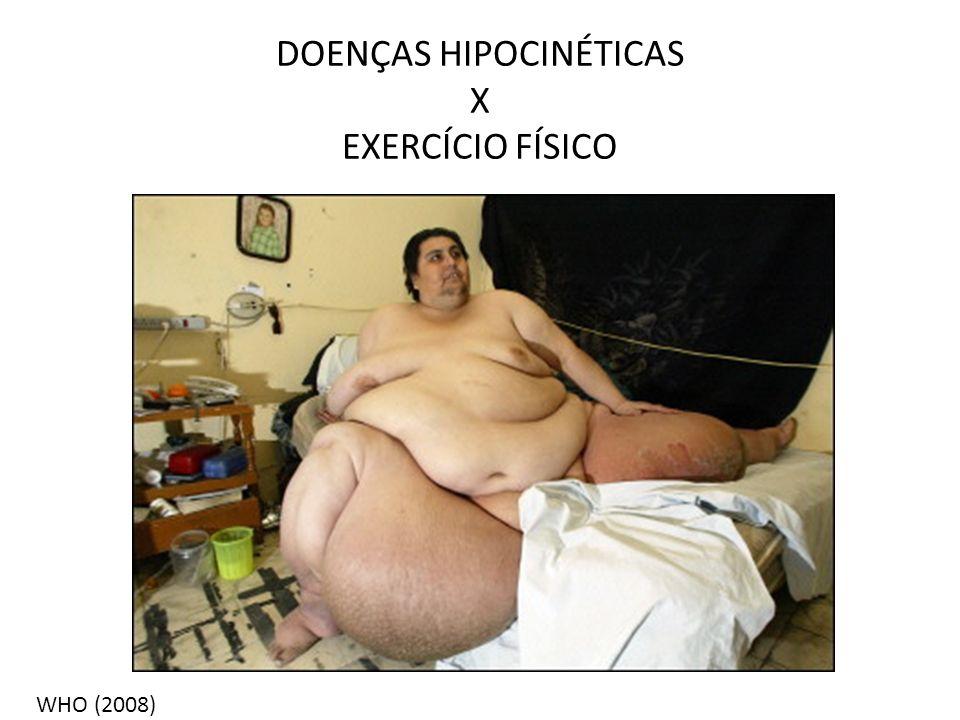DOENÇAS HIPOCINÉTICAS X EXERCÍCIO FÍSICO