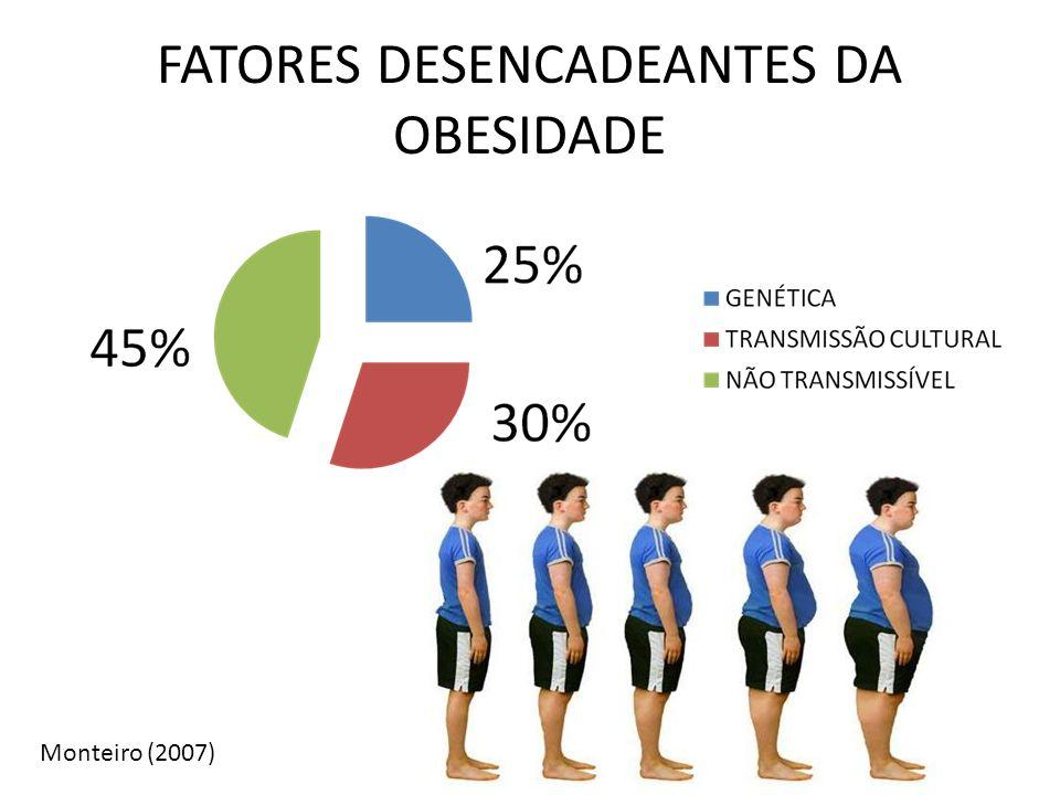 FATORES DESENCADEANTES DA OBESIDADE