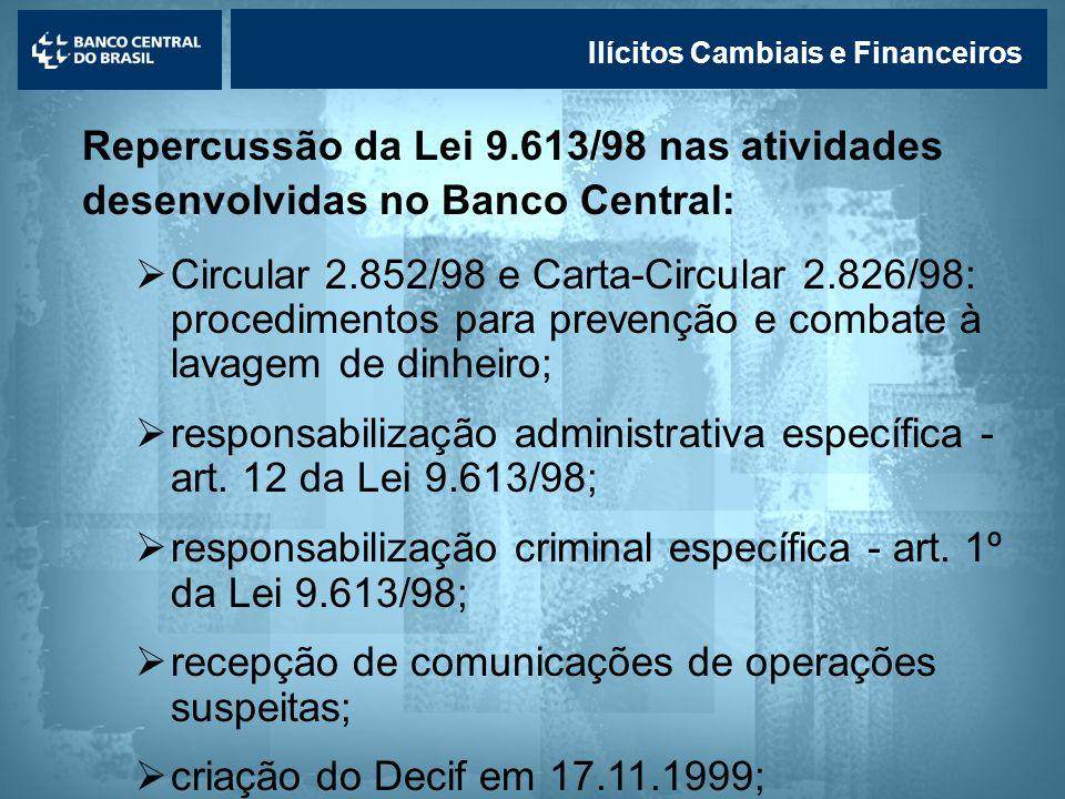 responsabilização administrativa específica - art. 12 da Lei 9.613/98;