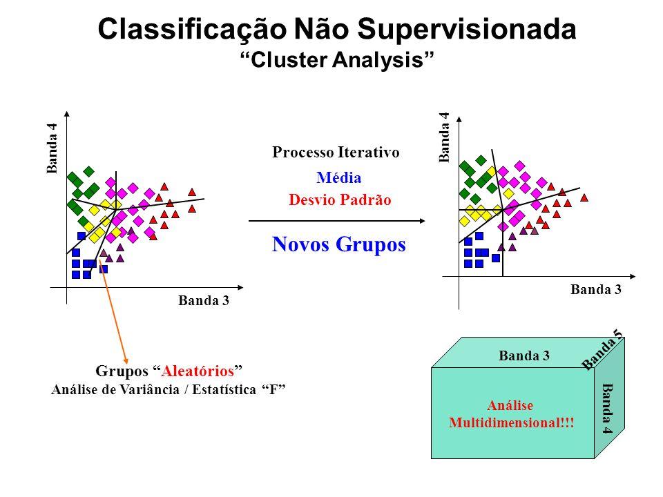 Classificação Não Supervisionada
