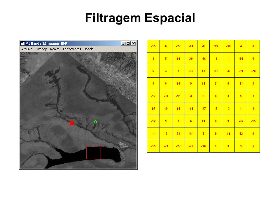 Filtragem Espacial