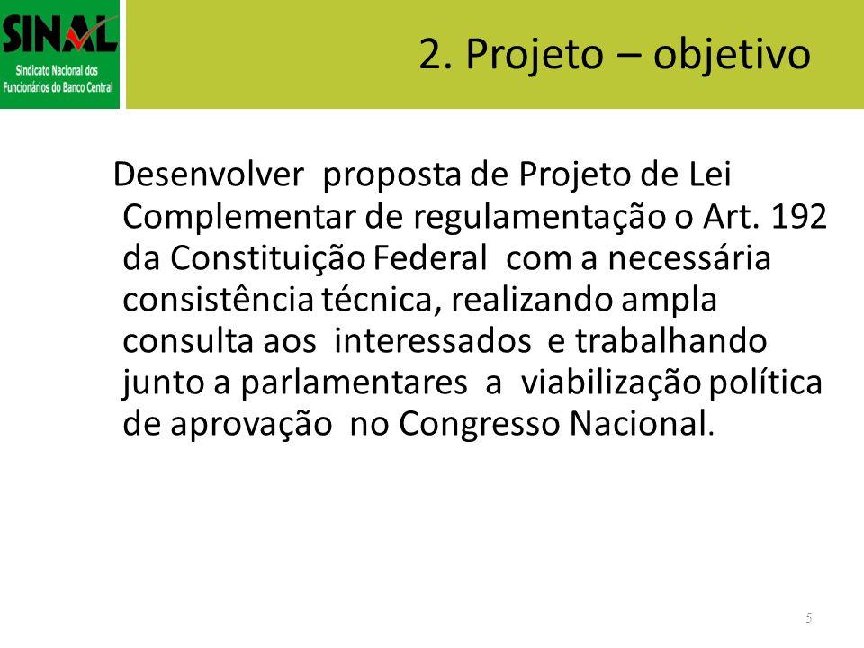2. Projeto – objetivo