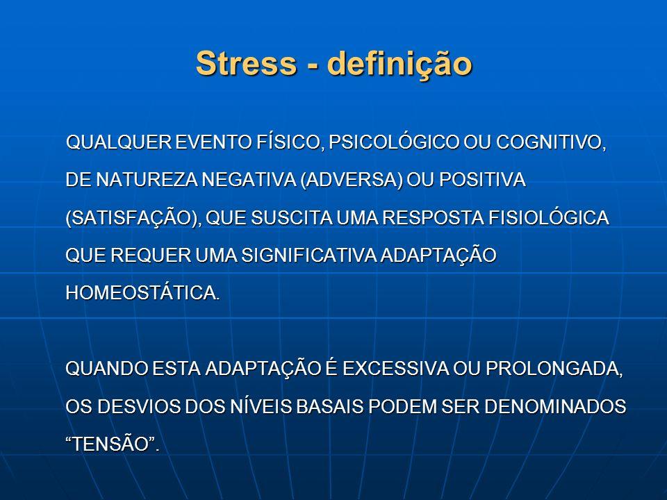 Stress - definição