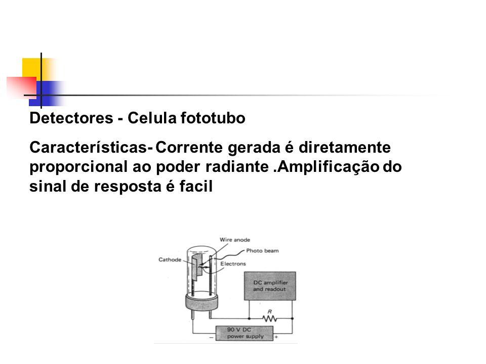 Detectores - Celula fototubo