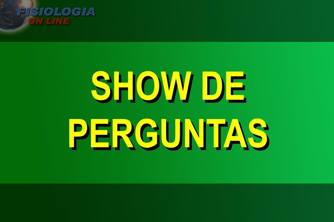 SHOW DE PERGUNTAS