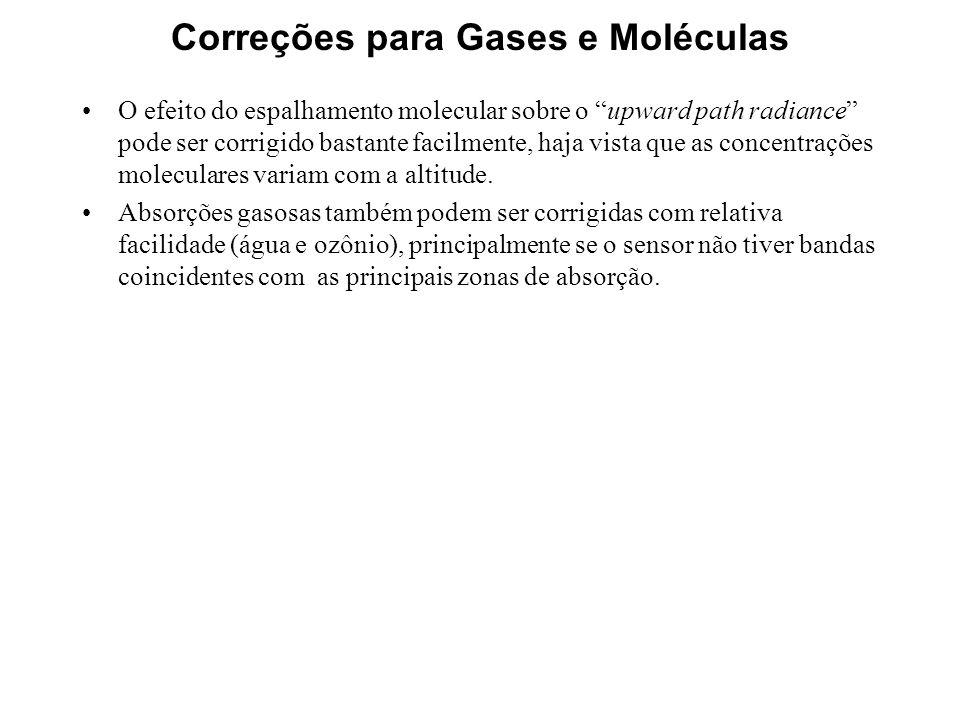Correções para Gases e Moléculas