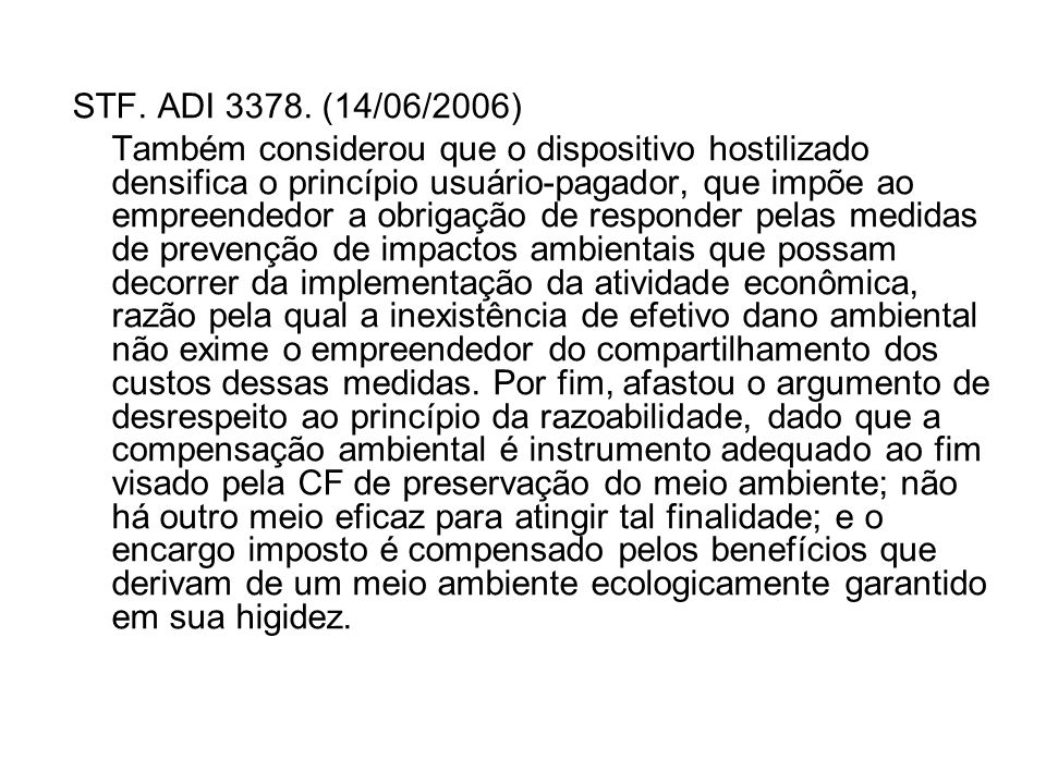 STF. ADI 3378. (14/06/2006)