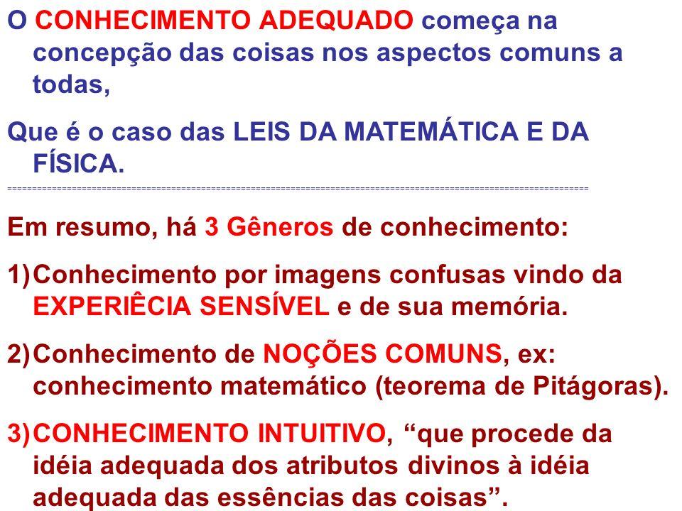 Que é o caso das LEIS DA MATEMÁTICA E DA FÍSICA.