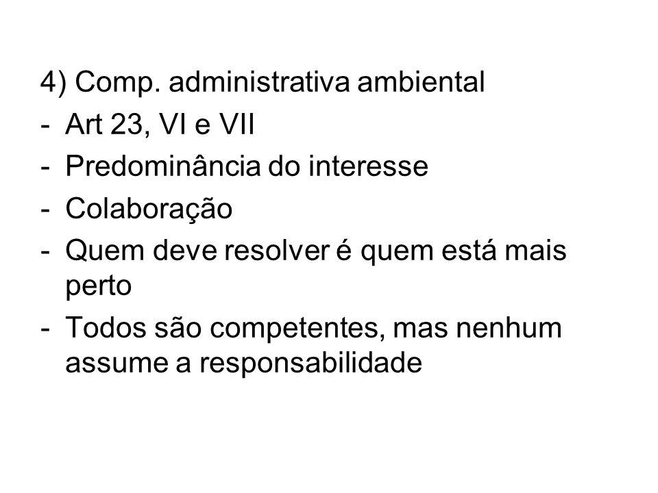 4) Comp. administrativa ambiental