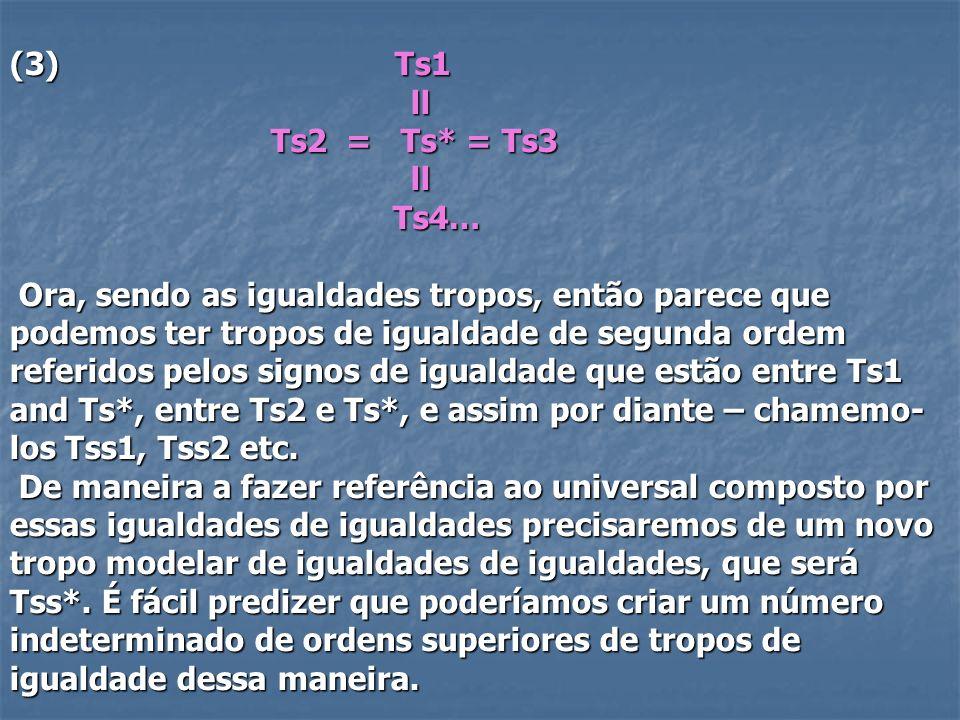 (3) Ts1 ll. Ts2 = Ts* = Ts3. Ts4…