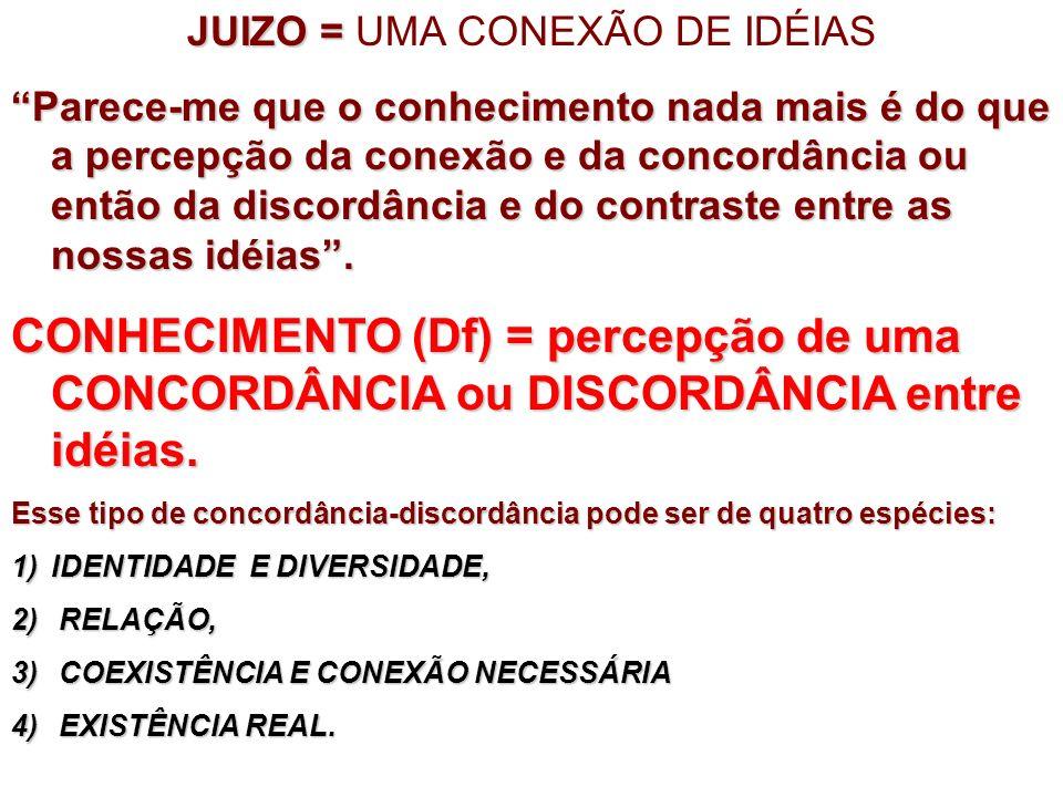 JUIZO = UMA CONEXÃO DE IDÉIAS